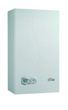 FERROLI DIVATech Micro LN F 24 D N de 24 KW con kit de salida de gases para reposición