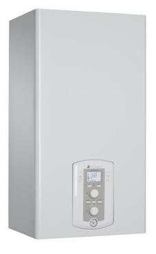 CHAFFOTEAUX-MAURY PIGMA GREEN 25 FF EU con microacumulación , display digital y función confort de 25 KW con placa de conexiones y kit salida de humos.