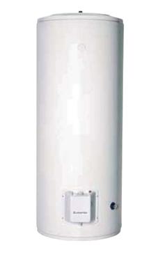 ARISTON PRO B STI 500   termo eléctrico de gran capacidad, instalación sobre suelo, resistencia blindada, 3 años de garantía en el calderín, calderín esmaltado al titanio a 850ºC.